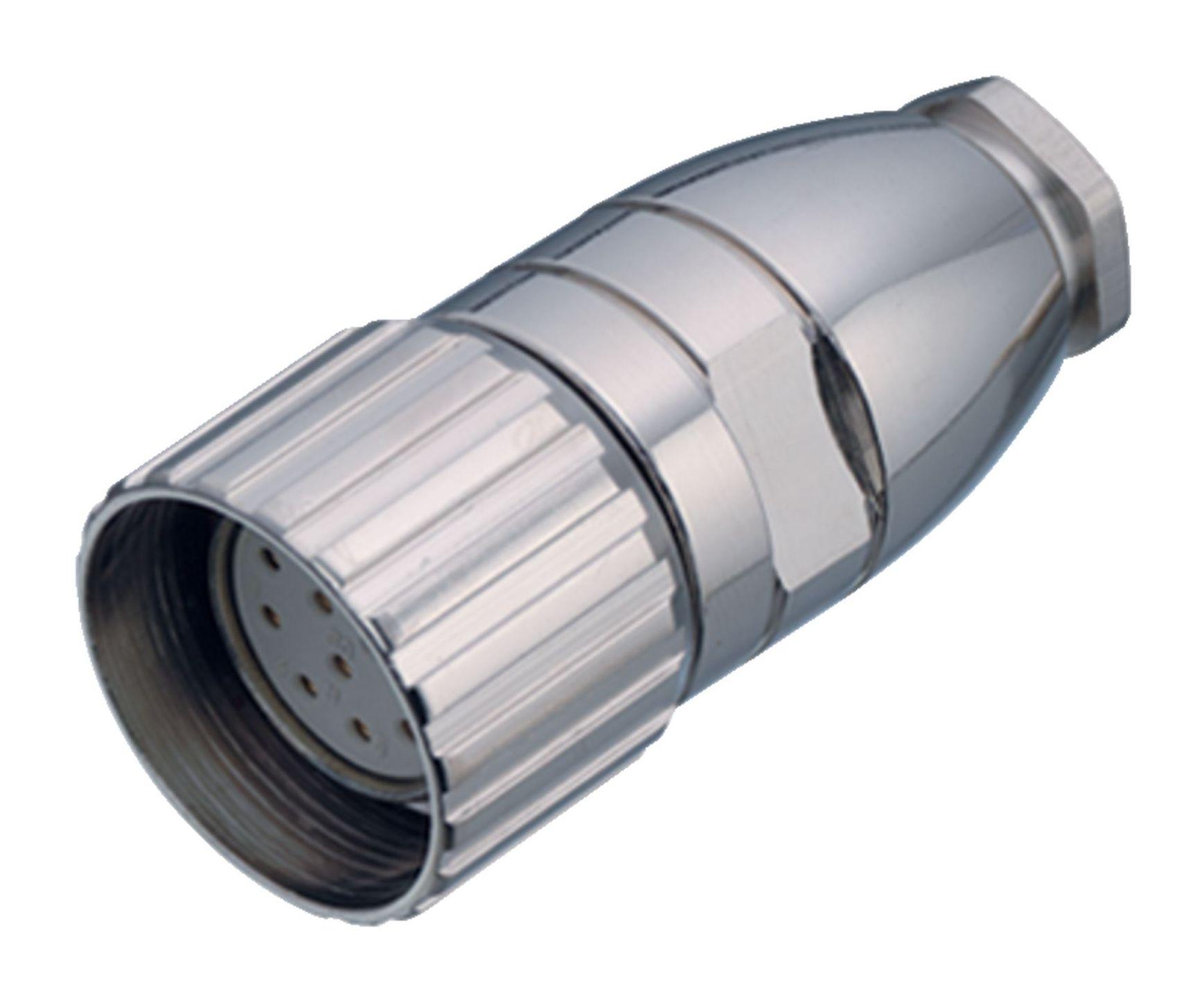 M23 Kabeldose mit Schraubverriegelung und Lötanschluss - binder