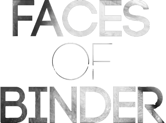Faces of binder